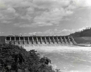 Kaptai Hydro Electric dam which caused a huge migration