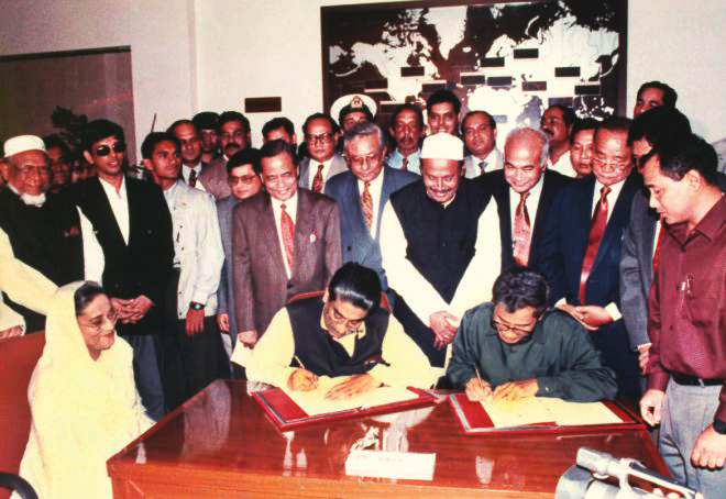 CHT Accord signing ceremony